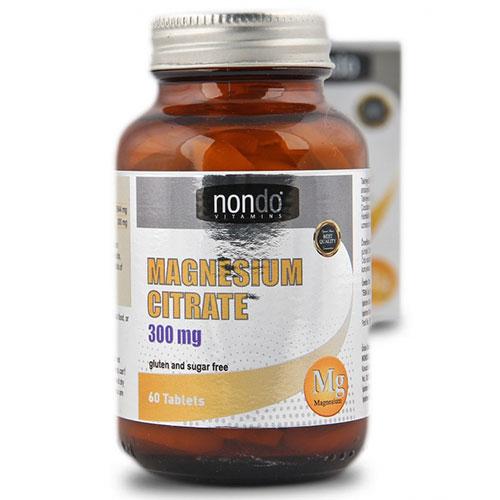 Nondo MAGNESIUM CITRATE 60 حبة