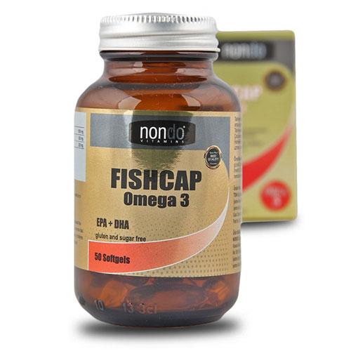 Nondo FISHCAP Omega 3 EPA + DHA 50 كبسولة