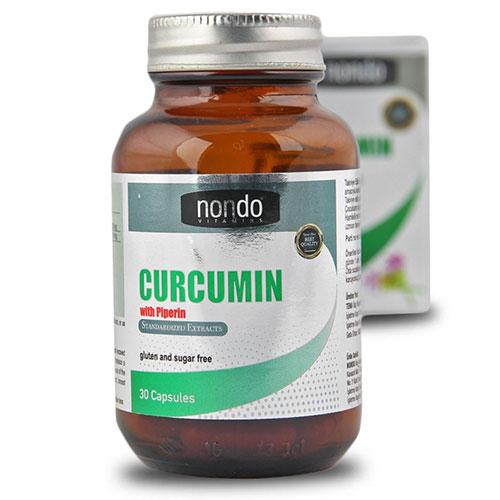 Nondo CURCUMIN 30 كبسولة