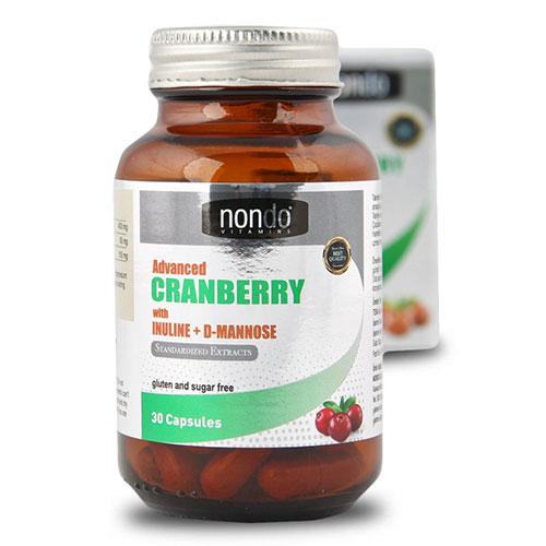 Nondo CRANBERRY 30 Kapsül