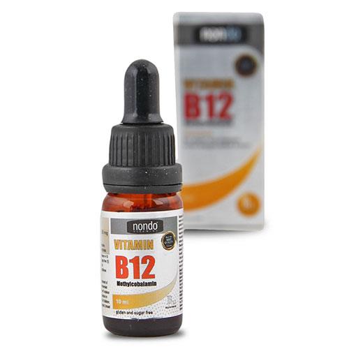 Nondo VİTAMİN B12 Methylcobalamin Damla