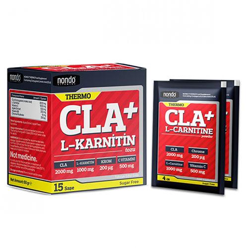Nondo THERMO CLA+L-Carnitine 15 Saşe