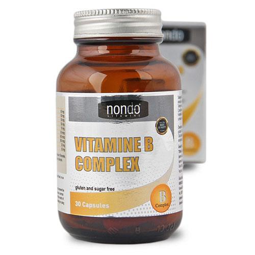 Nondo VITAMIN B COMPLEX 30 Capsules