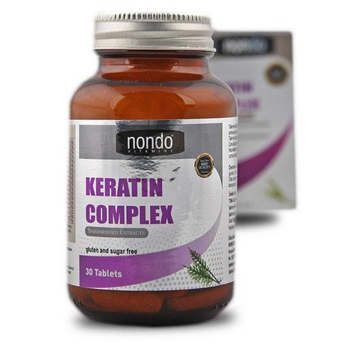 Nondo KERATIN COMPLEX 30 Tablets
